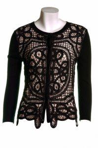 Black Lace Cardigan Images