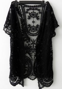 Black Lace Cardigan Pictures