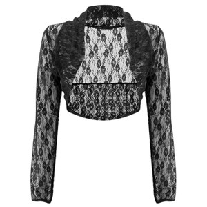 Black Lace Shrug Pictures