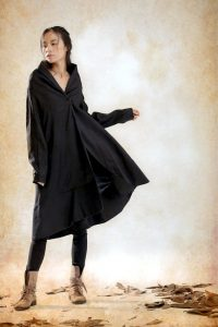 Black Trench Coat Womens