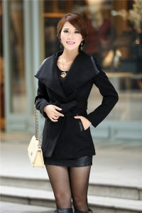 Black Trench Coats Women