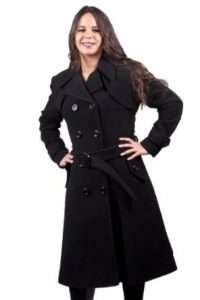 Black Trench Coats for Women