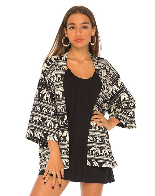 Shop for black and white kimono online at Target. Free shipping on purchases over $35 and save 5% every day with your Target REDcard.