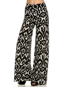 Black and White Palazzo Pants