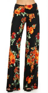 Floral Palazzo Pants Pictures