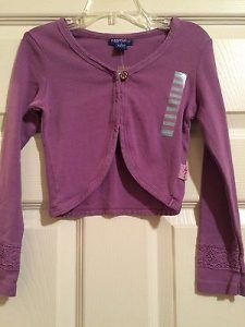 Girls Purple Shrug