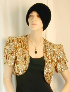 Gold Sequin Shrug