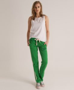 Green Joggers Womens
