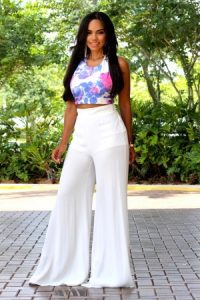 High Waisted Palazzo Pants Images