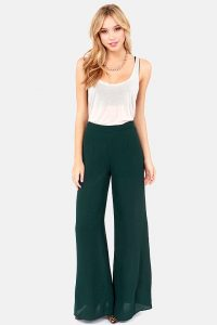 High Waisted Palazzo Pants Pictures