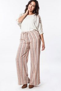 High Waisted Palazzo Pants Plus Size