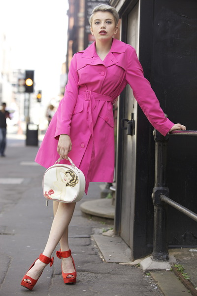 Pink Trench Coat Wardrobe Mag