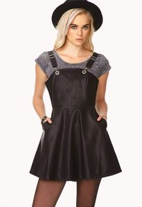 Images of Black Overall Dress