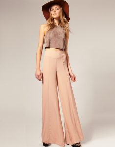 Images of High Waisted Palazzo Pants