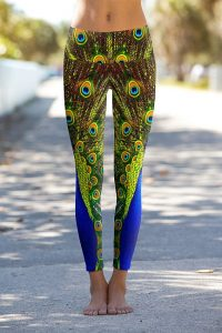 Images of Peacock Leggings