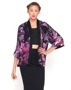 Images of Purple Kimono