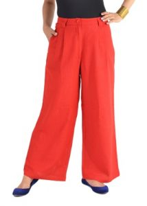 Images of Red Palazzo Pants