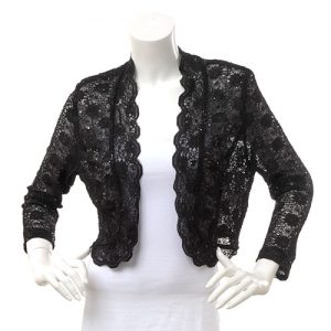 Lace Black Shrug