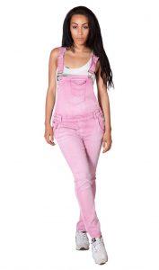Ladies Pink Overalls