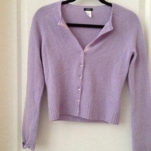 Lavender Cardigan Images