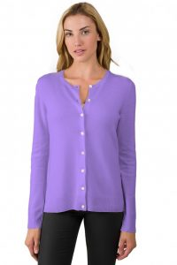Lavender Cardigan Sweater