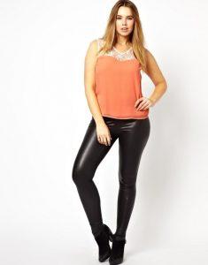 Leather Plus Size Leggings