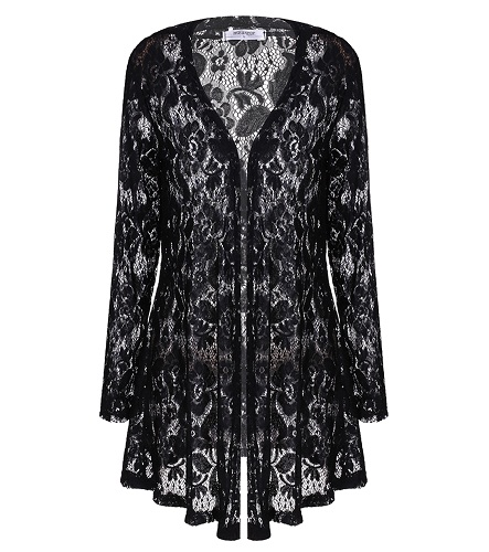 Black Lace Cardigan Wardrobemag Com