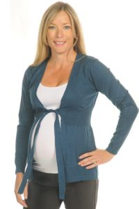 Maternity Cardigan with Bow