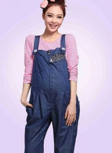 Maternity Overall Jeans