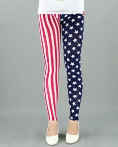 Pictures of Red White and Blue Leggings