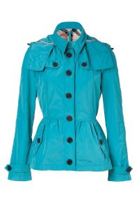 Pictures of Turquoise Trench Coat