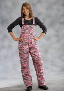 Pink Camo Overalls