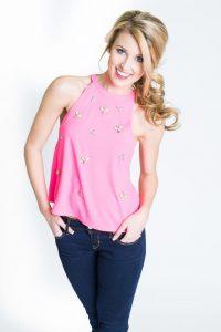 Pink Halter Top Images