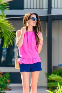 Pink Halter Top Outfit
