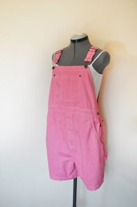 Pink Overall Shorts
