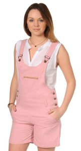 Pink Overalls for Adults