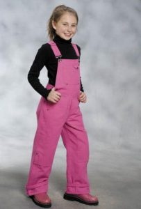 Pink Overalls for Girls