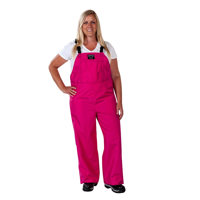 Pink & white is a unique color scheme, so you've got to have unique apparel to rock the color combination! Our pink & white striped game bib overalls feature a shade of light pink that pops perfectly against the alternating white stripes, and every pair is made of percent cotton for a light, breathable feel no matter the weather.