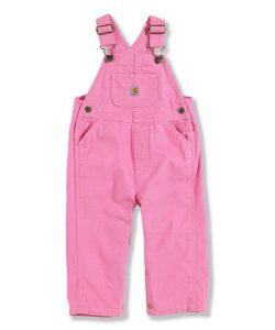 Pink Toddler Overalls