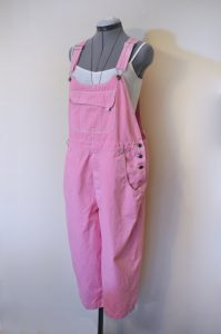 Pink Womens Overalls