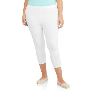 Plus Size Leggings White