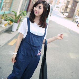 Plus Size Maternity Overalls