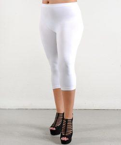 Plus Size White Leggings Images