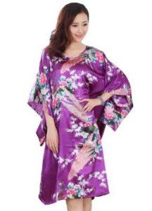 Purple Kimono Dress