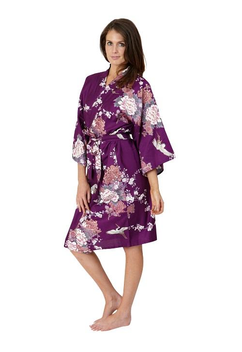 Purple Kimono | Wardrobe Mag