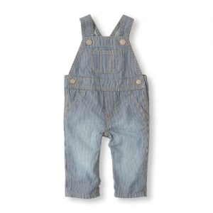 Railroad Striped Overalls