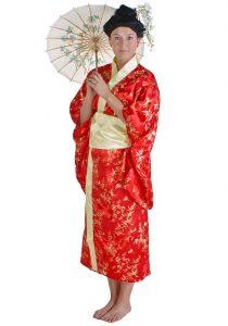 Red Kimono Images