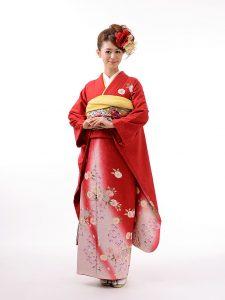 Red Wedding Kimono