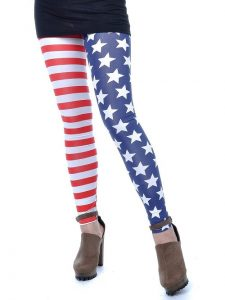 Red White and Blue Leggings Images