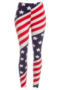 Red White and Blue Leggings Pictures